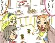 「回転寿司屋にJK」が普通の光景に(漫画/浜田ブリトニー)