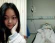 微博にアップされた、王玉鑫さんの写真。目がパッチリとした、なかなかの美人である