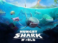 App Store『Hungry Shark World』より。