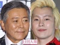 (左から)小倉智昭、カズレーザー(メイプル超合金)