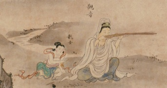 観音様は銃を構え、諸葛孔明は曲芸を披露 江戸時代に書かれた絵に、ツッコミどころが多すぎる
