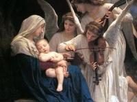 """ウィリアム・アドルフ・ブグロー """"歌を歌う天使達"""" 画像は「Wikipedia」より引用"""