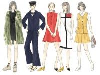 ミニスカート大流行。「60年代ファッション」とは