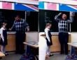 ロシアの小学校の英語の授業。黒板の前に立たされた女の子を執拗に責める先生にまさかの展開