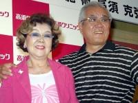 野村沙知代さん(左)と夫の野村克也さん(写真:日刊現代/アフロ)