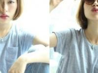 """夏のシンプルファッションを最旬""""眉上バング""""で格上げしちゃお☆"""