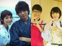 左:桐谷美玲の公式Instagram(@mirei_kiritani_)より      右:『逃げるは恥だが役に立つ』公式Instagram(@nigehajigram)より