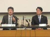 左=順天堂大学浦安病院 菊地医師、右=浦安市 松崎市長