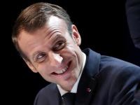 マクロン仏大統領(写真:代表撮影/ロイター/アフロ)