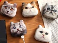 これは欲しい!バッグに着ければアクセサリーにもなる、猫型モバイルバッテリー