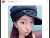 板野友美 公式インスタグラム(@tomo.i_0703)より
