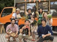 農業プロジェクト「SHARE THE LOVE for JAPAN」での集合写真