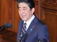 「息するように嘘をつく」1月28日 施政方針演説をする安部総理(首相官邸HPより)