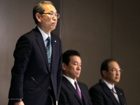 東芝の新社長、綱川智氏(つのだよしお/アフロ)