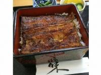 「愛川」堅焼きの鰻重