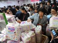 中国で大人気の花王「メリーズ」(Tungstar/アフロ)