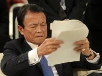 麻生太郎財務大臣(写真:AFP/アフロ)