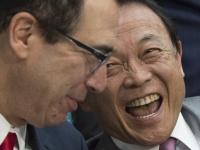 麻生太郎財務相(AFP/アフロ)