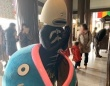成田山新勝寺で祈願をする謎の魚