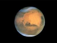 ハッブル宇宙望遠鏡で撮影した火星(提供=NASA/JPL)