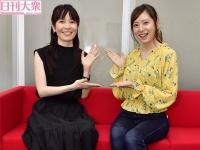 安里麻里(右)と麻美ゆま
