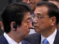 安倍首相と中国の李克強首相(ロイター/アフロ)