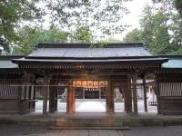 荘厳な雰囲気漂う白山比咩神社