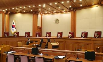 韓国・憲法裁判所の法廷(写真提供/山田俊英)