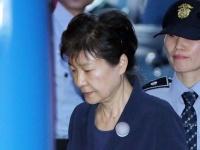 収賄罪などで起訴された韓国前大統領の朴槿恵被告(YONHAP NEWS/アフロ)