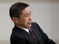 日産、西川社長が会見 仏ルノーの新体制発表を受け実施(写真:つのだよしお/アフロ)