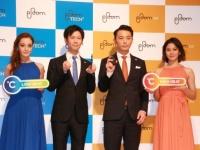 中央右側が高橋部長、中央左側が岩崎マネージャー