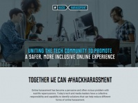 「Hack Harassment」公式サイトより