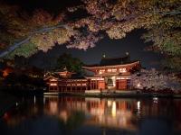 平等院鳳凰堂 夜間特別拝観(8wareさん撮影、Flickrより)