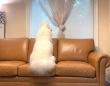 サモエド犬「もう帰っちゃうの?次はいつ?」お友だちが帰っちゃってさびしさMAXしょんぼりな犬