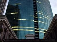 富士通本社が所在する汐留シティセンター(「Wikipedia」より)