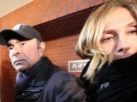 カルロス・ゴーン被告を保釈 都内に姿現す(写真:AFP/アフロ)