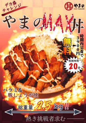唯一無二の焼肉丼 丼やまののプレスリリース画像