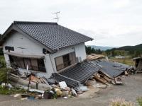 熊本地震で大きな被害を受けた南阿蘇村(「UPI/アフロ」より)