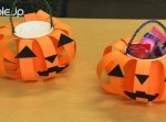 【ハロウィン】 カボチャのお菓子バッグの作り方