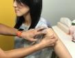 インタビュー本文中の記述にある通り、取材当日に子宮頸がんワクチンを打ってきたという村中璃子さん