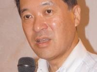 10日の泉田前知事の半蔵門での会合(撮影 横田一)