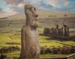 新たな発見によりイースター島のモアイ像についての理解が大きく変わる