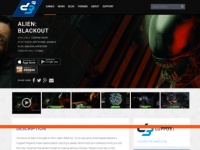 『Alien:Blackout』公式サイトより