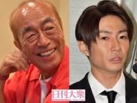 (左から)志村けんさん、相葉雅紀(嵐)