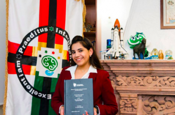 13歳で史上最年少の心理学者となったメキシコの天才少女。17歳でハーバード大学、大学院に進学