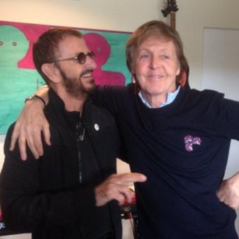 ポール・マッカートニーとリンゴ・スターの一緒にスタジオ入りが判明