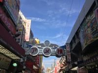 JR御徒町駅側から見た「アメ横」商店街
