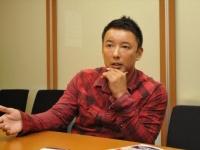 投票行動の切り替えを呼びかける、山本太郎氏
