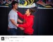 「もう一枚。」とtwitterで公開したラブラブ2ショット(写真はダルビッシュのtwitterより)