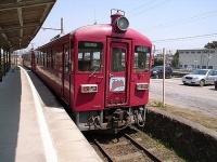 在りし日のくりはら田園鉄道(yari hotakaさん撮影、flickrより)